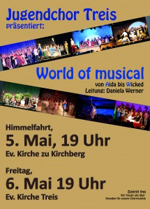 Flyer World of musical ok